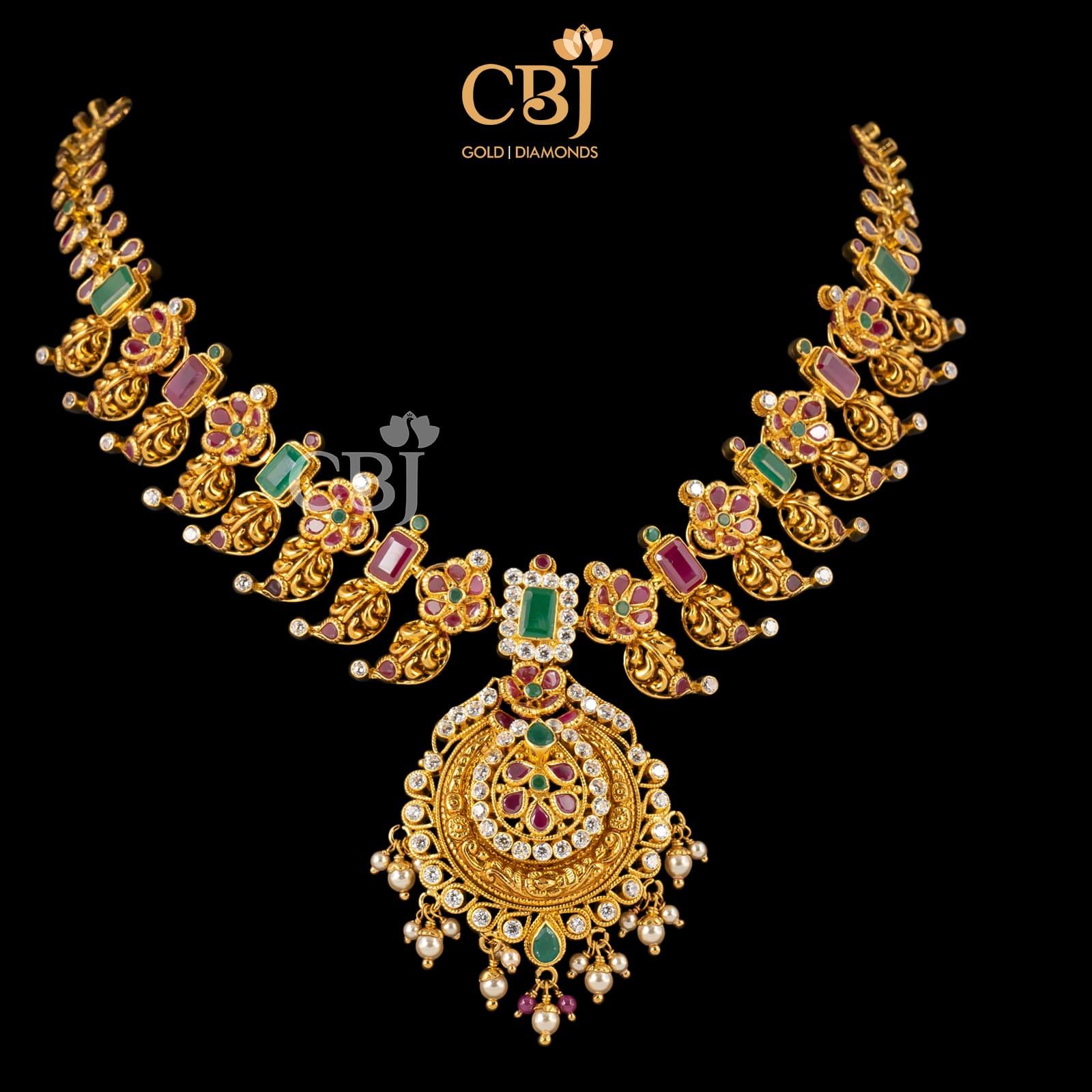 Lite Wt Multi Color Necklace
