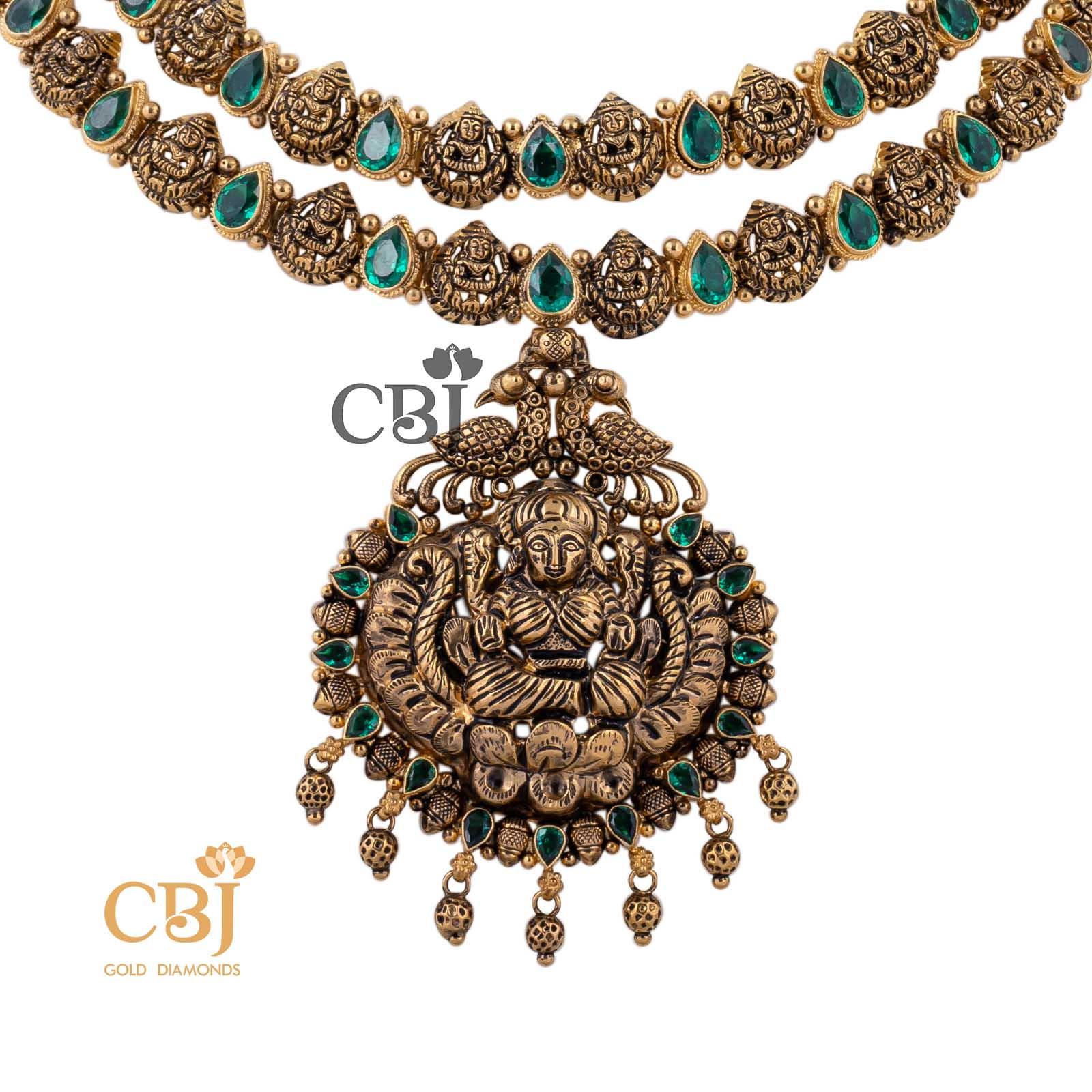 bridal gold necklace design